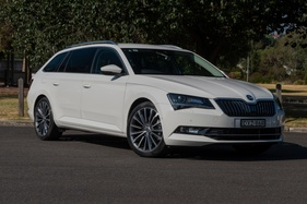 Skoda's entry-level Superb wagon keeps leading in the large car segment