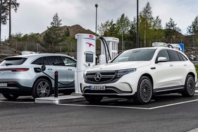 Mercedes are experiencing high demand for their new EV, the EQC
