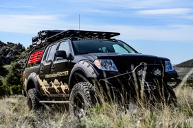 Nissan wants to take you deep into the wilderness with its American Frontier concept