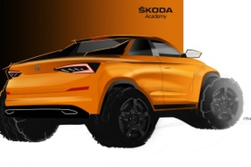 Skoda unveils the concept that will be built by students