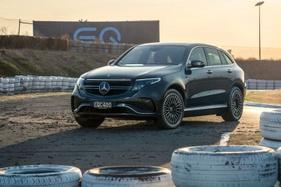 We ride shotgun in Mercedes-Benz's first electric SUV