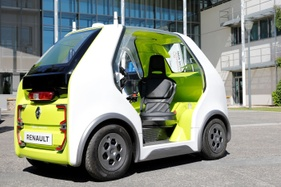 Renault unveils EZ-Pod concept vehicle designed for 'last-mile' transport