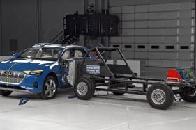 Audi e-tron quattro scores top rating in IIHS safety awards