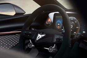 Cupra teases interior of its new EV concept ahead of Frankfurt motor show