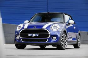 Need a four-seat convertible for less? The Mini Cooper is the cheapest drop-top in Oz