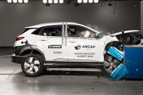 5 Stars: Safety watchdog ANCAP has tested the electric Hyundai Kona locally