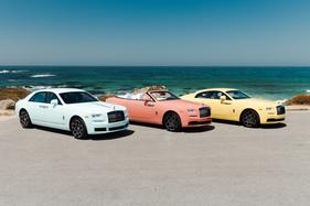 Special edition Rolls-Royce Pebble Beach 2019 Pastel Collection revealed