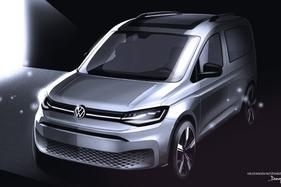 2021 VW Caddy sketch reveals realistic update