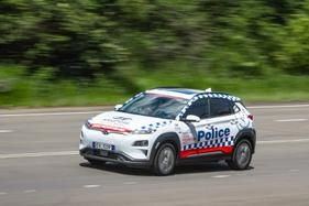 Charged with battery: NSW Police trial Hyundai Kona EV