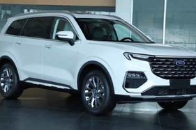 Pictures of a new Ford Equator SUV have surfaced in China