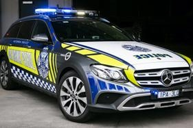 The latest new model to join the Vic Police fleet is a Mercedes-Benz