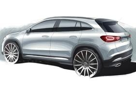 Mercedes-Benz has released sketches of its new-gen GLA SUV