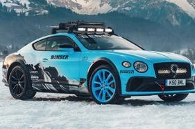 Bentley craft one-off Continental GT for Austrian ice race