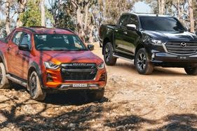 Isuzu D-Max and Mazda BT-50 sales are staying strong
