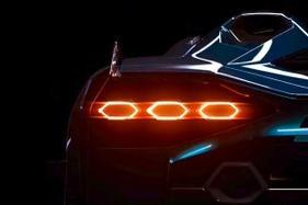 Lamborghini has teased its upcoming hybrid roadster
