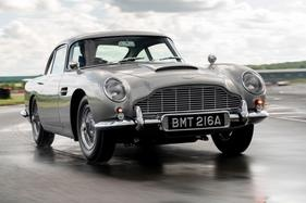 Aston Martin has rebuilt James Bond's DB5 complete with the gadgets