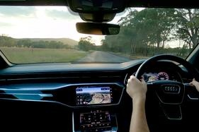 Take a virtual trip on Aus roads in an A6 thanks to Audi's 'The Drive'