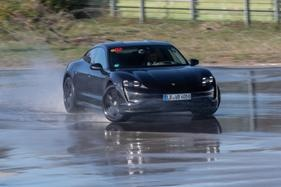 Porsche's new electric car set a new 'drifting' record - until its battery ran flat