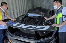 McLaren may be destroyed after it was imported as a cheaper Porsche