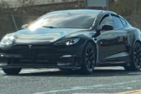 2021 Tesla Model S facelift spied again