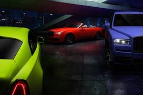 Rolls-Royce Black Badge trio get a splash of colour with new special edition