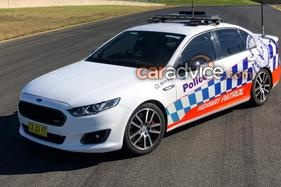 Rest in peace: Last Ford Falcon XR6 Turbo highway patrol car hands in stripes