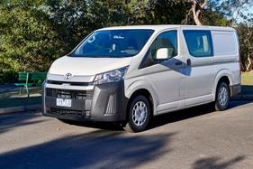 Review: This petrol option is the one to buy if you want a powerful HiAce