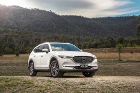 Updated Mazda CX-8 Diesel gets more tech and improved handling