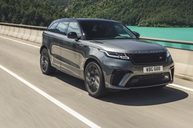 We get behind the wheel of what could be JLR's last V8-engined Range Rover