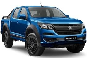 New Holden Colorado LSX grade adds blacked-out toughness for 2020