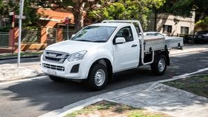 Review: Good value and decent lugging power, the Isuzu D-Max single cab