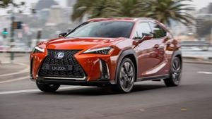 Pricing and Specs: Lexus UX gets upgraded tech and a price cut