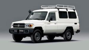 Toyota's trusty Troopy has been tasked with distributing covid vaccines