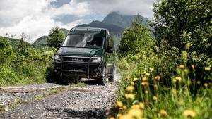 Bored of sticking to the roads in your van? Torsus Terrastorm is for you