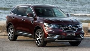 Poor sales spells the end of the Renault Koleos in the UK, to stay in Aus