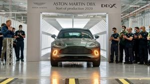 The first Aston Martin DBX has rolled off the production line