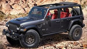 The Jeep Wrangler V8 is a thing, but it's only a concept so far