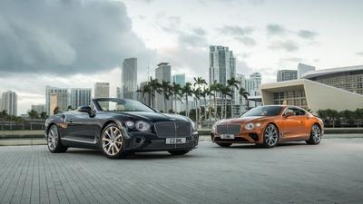 Bentley reveals V8-powered Continental GT