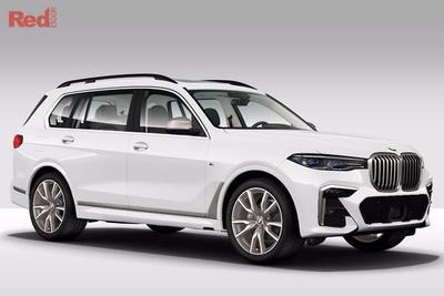 2019 BMW X7 new car showroom