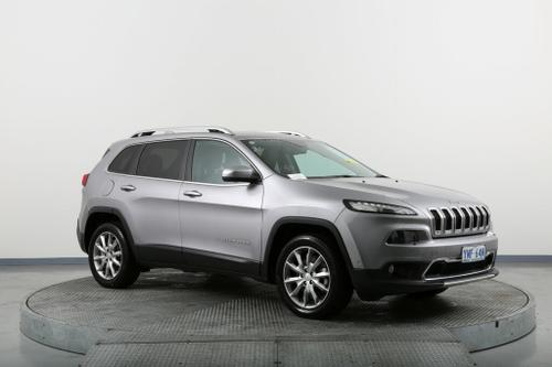 JEEP CHEROKEE Limited KL Limited Wagon 5dr Spts Auto 9sp 4x4 3.2i [MY16]