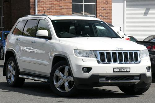 JEEP GRAND CHEROKEE Limited WK Limited Wagon 5dr Spts Auto 5sp 4x4 3.6i [MY11]