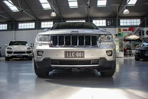 JEEP GRAND CHEROKEE Limited WK Limited Wagon 5dr Spts Auto 5sp 4x4 3.6i [MY12]