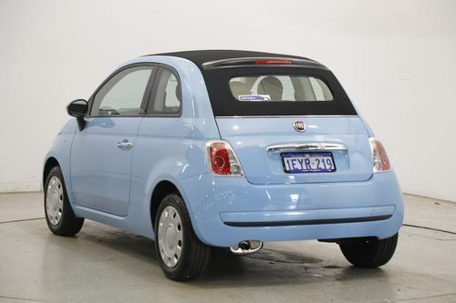 Fiat 500C Pop Series 3 Pop Convertible 2dr Dualogic 5sp 1.2i [Jul]