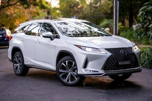 Lexus RX RX450hL GYL26R RX450hL Luxury Wagon 7st 5dr CVT 6sp 4x4 3.5i Hybrid [Aug]
