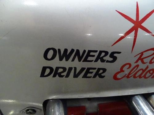 RASMUSSEN INDY RACE CAR