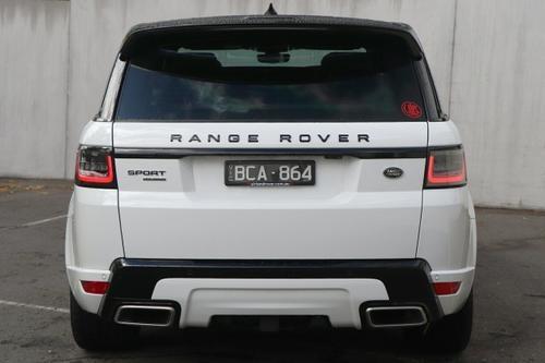 LAND ROVER RANGE ROVER SPORT SDV8 L494 SDV8 HSE Dynamic Wagon 5dr CommandShift 8sp 4x4 4.4DTT [MY19]
