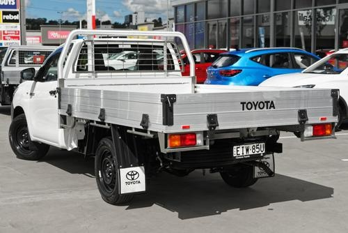 Toyota Hilux Workmate TGN121R Workmate Cab Chassis Single Cab 2dr Man 5sp 4x2 2.7i