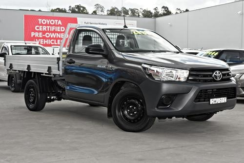 Toyota Hilux Workmate GUN122R Workmate Cab Chassis Single Cab 2dr Man 5sp 4x2 2.4DT [Jun]