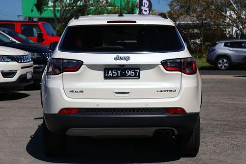 JEEP COMPASS Limited M6 Limited Wagon 5dr Auto 9sp 4x4 2.0DT [MY18]