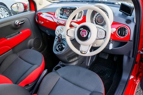 FIAT 500C Pop Series 4 Pop Convertible 2dr Dualogic 5sp 1.2i